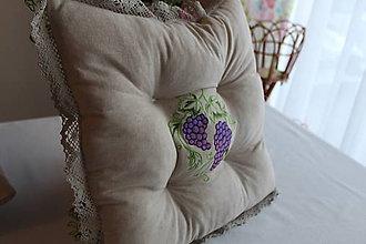 Úžitkový textil - Podsedáky Alibernet - 9141077_