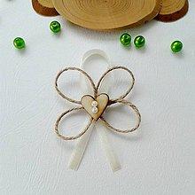 Pierka - Prírodné pierka pre svadobných rodičov - 9142054_
