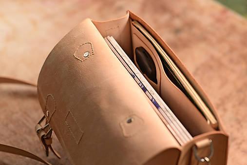 Aktovka kožená prírodná A4 13 ´´   Tanflow - SAShE.sk - Handmade Kabelky e6c83ad41dc