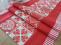 Úžitkový textil - Štóla srdiečková .... - 9142885_