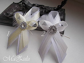 Pierka - svadobné pierko maslové - 9140967_