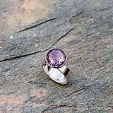 Prstene - Strieborný prsteň - Kužeľ - 9140952_