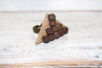 Prstene - Prsteň s korálkami - 9141841_