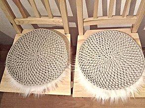 Úžitkový textil - Podsedáky svetlá béžová - 9140420_