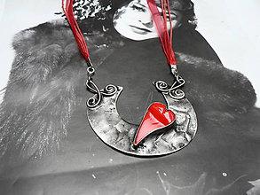 Náhrdelníky - Letovaný šperk, Srdeční záležitosti.. - 9141028_