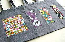 Detské tašky - EKO taška veselá dievčenská - 9139665_