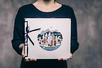 Papiernictvo - Fotoalbum klasický, polyetylénový obal s potlačou ,,Los Angeles,, - 9143187_