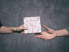 Papiernictvo - Leporelo 13x13 ,,Valentínske leporelká,, (dočasne nedostupné) - 9143627_