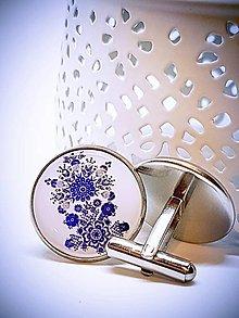 Šperky - Manžetové gombíky Jonatán - 9144203_