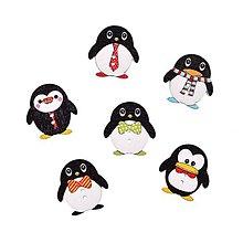 Galantéria - Pinguin gombíčky - 9140217_