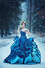 Ozdoby do vlasov - Veľká, rozprávková kvetinová koruna - 9143270_