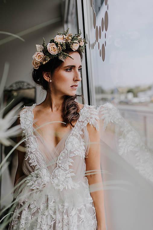 Svadobný boho venček