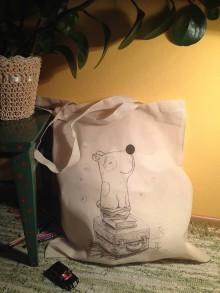 Nákupné tašky - Taška psík cestovateľ - 9142137_