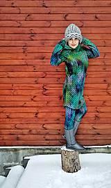 """Mikiny - """"Knitted Mountain´s Lake"""" termo mikina - 9142801_"""