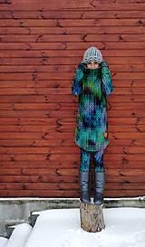 """Mikiny - """"Knitted Mountain´s Lake"""" termo mikina - 9142803_"""
