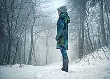 """Mikiny - """"Knitted Mountain´s Lake"""" termo mikina - 9143299_"""