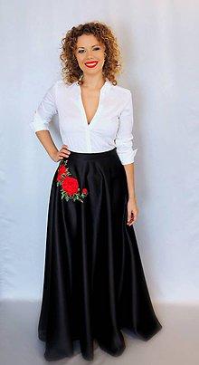 Sukne - Midnight rose - 9141315_