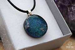 Sady šperkov - Tmavozelená sada sklenených šperkov - 9143072_