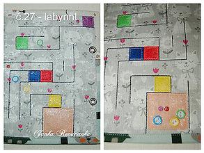 Hračky -  labyrint - 9143159_