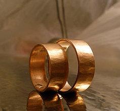 Prstene - medená obrúčka - 9147752_
