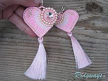 Heart collection...vyšívané (Pink/Rose)