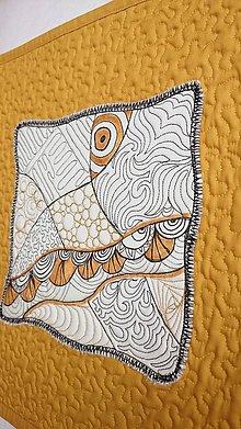 Obrázky - Art quilt 35 x 35 cm - 9145237_