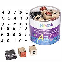Iný materiál - Sada pečiatok abeceda - 9144484_