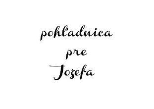 Papiernictvo - pohľadnica pre jozefa  - 9148509_