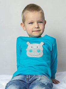 Detské oblečenie - tričko (dlhý rukáv) HROCH - 9146014_