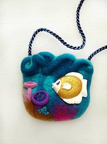 Detské tašky - Detská kabelka s hračkou_PODMORSKÝ SVET - 9148206_
