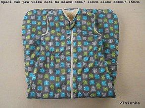 Textil - RUNO SHOP Spací vak pre školáka 100% MERINO na mieru dlzka vaku 140 cm - 9145521_