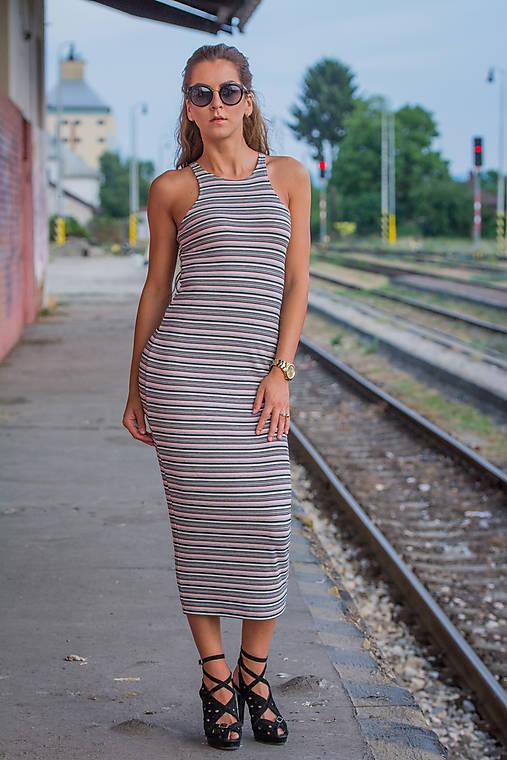 Tielkové midi šaty.   veronikaIN FASHION - SAShE.sk - Handmade Šaty 809af4a3248