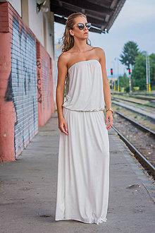 Šaty - Ležérne šaty maslové. - 9145443_
