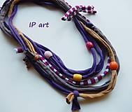 Náhrdelníky - V duchovných barvách - náhrdelník - 9149270_
