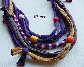 Náhrdelníky - V duchovných barvách - náhrdelník - 9149267_