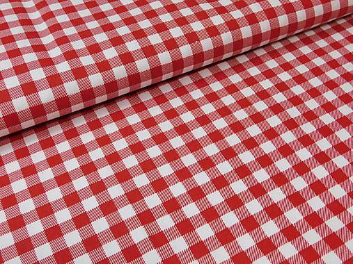 8f12996c2 Látka červená kocka / madlen.vz - SAShE.sk - Handmade Textil