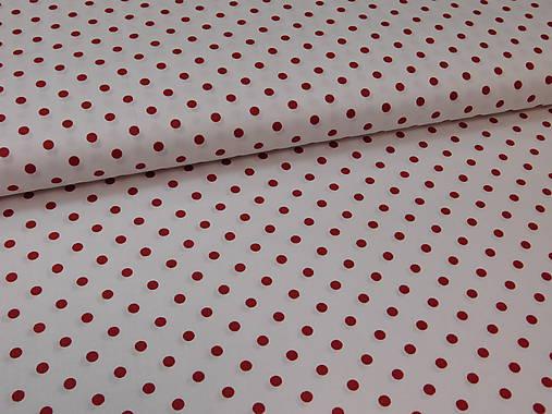 b2c938514 Látka červená bodka / madlen.vz - SAShE.sk - Handmade Textil