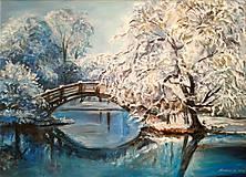 Obrazy - V modrom - 9145593_