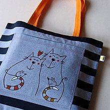 Veľké tašky - JÓÓÓ, LÁSKA! - velká taška - 9148405_