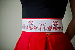 Opasky - Folk opasok z regiónu Abov - 9148324_