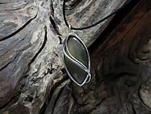 Náhrdelníky - V hlbokom lesnom tichu (achát) - 9147977_