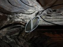 Náhrdelníky - V hlbokom lesnom tichu (achát) - 9147978_