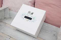 Papiernictvo - Svadobná súprava pastelové kvietky/ k svadobnému oznámeniu - 9145568_