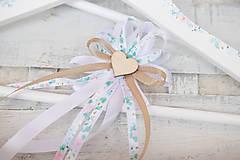 Papiernictvo - Svadobná súprava pastelové kvietky/ k svadobnému oznámeniu - 9145575_