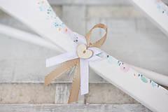 Papiernictvo - Svadobná súprava pastelové kvietky/ k svadobnému oznámeniu - 9145579_