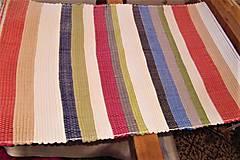 Úžitkový textil - Tkaný koberec pestrofarebný 2 - 9144784_