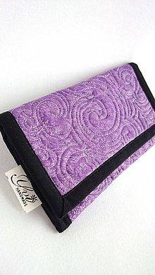 Na mobil - textilný obal na smartfón - fialový - 9150904_
