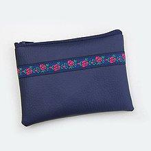 Peňaženky - Peňaženka Modrá Folklór - 9152691_