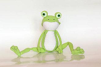 Hračky - Žabka Esmeralda - 9151621_