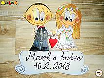 Tabuľky - Menovka - svadobná - 9152318_